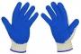 Pracovní rukavice pogumované 10 párů